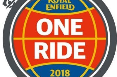 Royal Enfield One Ride am 8. April 2018