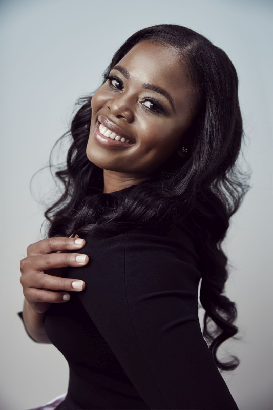 Portraits of Pretty Yende for Sony Classic