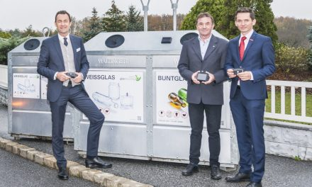 Start für den intelligenten Glascontainer