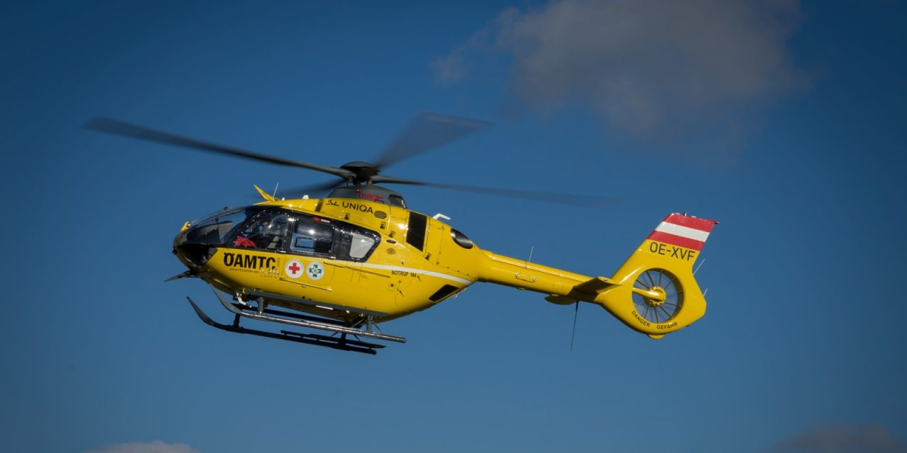 Unfall in Kottes – Heli flog