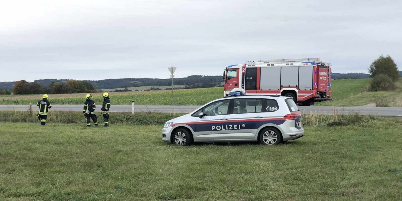 Leblose Person aus Auto geborgen