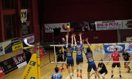 Meister ACH Volley war gefordert